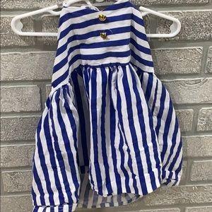 💥10/10Boutique blue stripped fashion dress